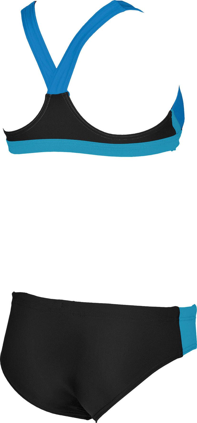 24cb66c9c09 arena Ren bikini Meisjes, black-pix blue-turquoise l Online outdoor ...